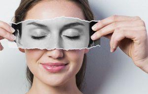 چروک پوست چشم