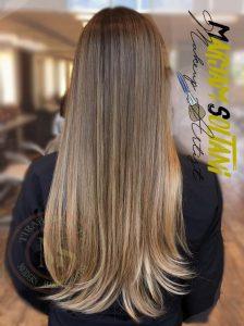 رنگ موی 98