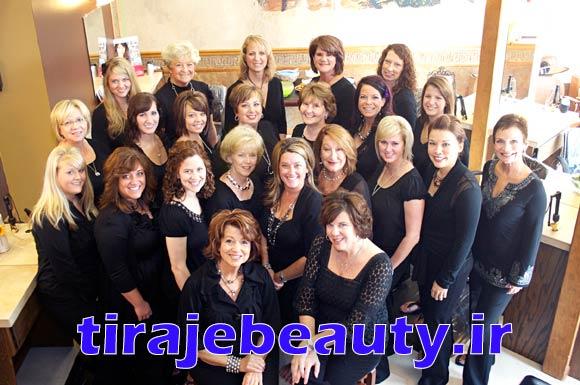 ارائه مدرک بین المللی آرایشگری
