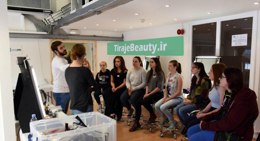 ورکشاپ آرایشگری در اروپا